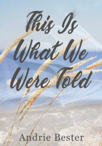 Cover for This is what we were told