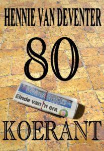 De Novo Boeke Koerant voorblad